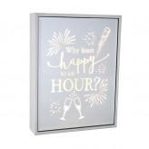 Happy Hour - Rectangle Light Box