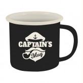Captains Mug - Enamel Mug LTD