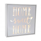 Home Sweet Home - Large Square Light Box
