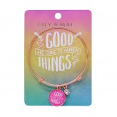 Good Things - Rose Gold Bangle