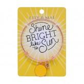 Shine Bright - Rose Gold Bangle
