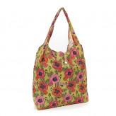 Eco Chic Yellow Poppies Shopper Bag
