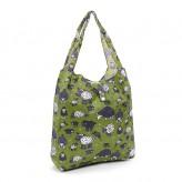 Eco Chic Green Sheep Shopper Bag