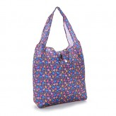 Eco Chic Purple Ditsy Doodle Shopper Bag