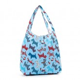 Eco Chic Light Blue ScottyDog ShopperBag
