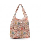 Eco Chic Cream Owls - Branch Shopper Bag