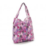 Eco Chic Purple Cats Shopper Bag