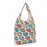 Eco Chic Beige Camper Van Shopper Bag