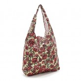 Eco Chic Beige Rose Shopper Bag