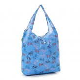 Eco Chic Blue Bikes Shopper Bag
