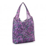 Eco Chic Purple Dragonfly Shopper Bag