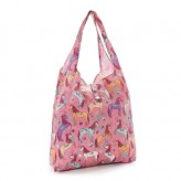 Eco Chic Pink Unicorn Shopper Bag