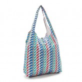 Eco Chic Colour Geometric Shopper Bag