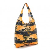 Eco Chic Orange Savannah Shopper Bag