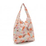 Eco Chic White Seashells Shopper Bag