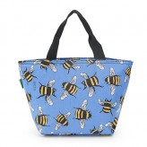 Eco Chic Blue Bee's Lunch Bag