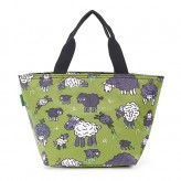 Eco Chic Green Sheep Lunch Bag