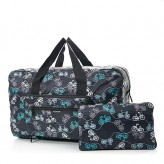 Eco Chic Black Bikes Holdall