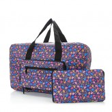 Eco Chic Purple Ditsy Doodle Holdall