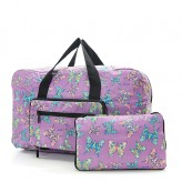 Eco Chic Lilac Butterfly Holdall