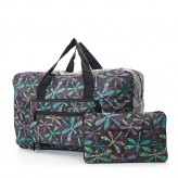 Eco Chic Black Dragonfly Holdall
