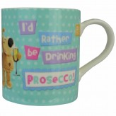 Drinking Prosecco - Boofle Mug