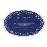 Navy - Giving Plate