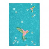 Teal Garden - Essa Collective Tea Towel