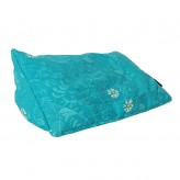 Teal Garden-Essa Collect Tablet Cushion