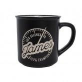James - Manly Mug