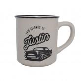 Justin - Manly Mug