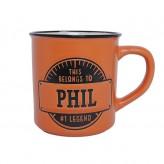 Phil - Manly Mug