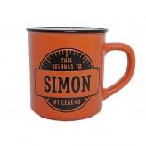 Simon - Manly Mug