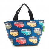 Eco Chic Teal Camper Vans Lunch Bag