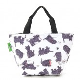 Eco Chic White Scatty Scotty Lunch Bag