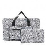 Eco Chic White Music Holdall