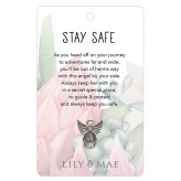 Stay Safe - Guardian Angel Pin