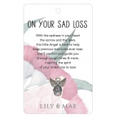 On Your Sad Loss - Guardian Angel Pin
