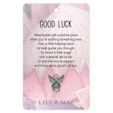 Good Luck - Guardian Angel Pin