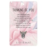 Thinking Of You - Guardian Angel Pin