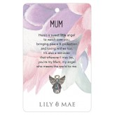 Mum - Guardian Angel Pin