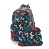 Eco Chic Black Scatty Scotty Backpack