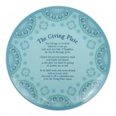 Aqua - Giving Plate