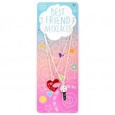 Key/Heart BFN05 BF Necklace