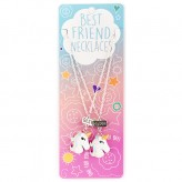 Two Unicorns BFN13 BF Necklace
