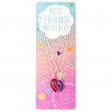 Heart/Butterfly Split BFN16 BF Necklace