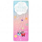 Mermaid Tail/Hearts BFN18 BF Necklace
