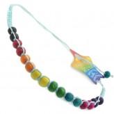 Lge Beads Aqua C6 - Friendship Brac.