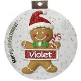 Violet - Xmas Dec