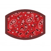 Red Bandana - Adults Face Cover F2436